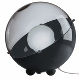 Koziol Floor Lamp Orion solid black/transparent anthracite